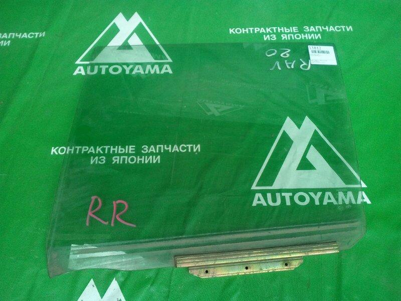 Стекло Toyota Rav4 ACA21 заднее правое (б/у)