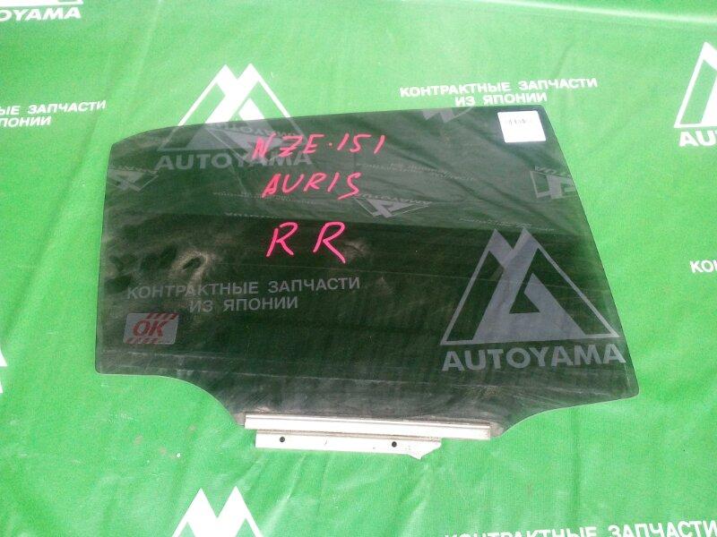Стекло Toyota Auris NZE151 заднее правое (б/у)