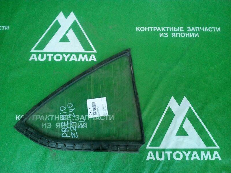 Форточка двери Toyota Premio ZZT240 задняя левая (б/у)