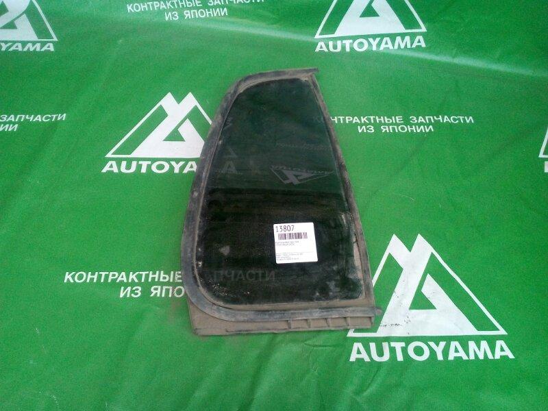 Форточка двери Toyota Raum EXZ10 задняя правая (б/у)
