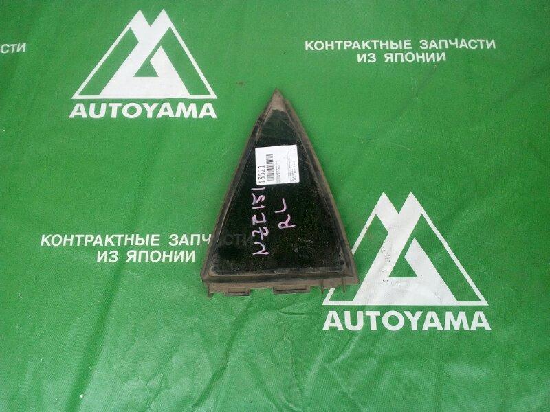 Форточка двери Toyota Auris NZE151 задняя правая (б/у)