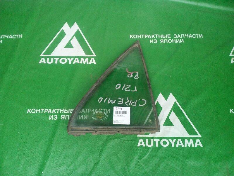 Форточка двери Toyota Corona Premio ST210 задняя левая (б/у)