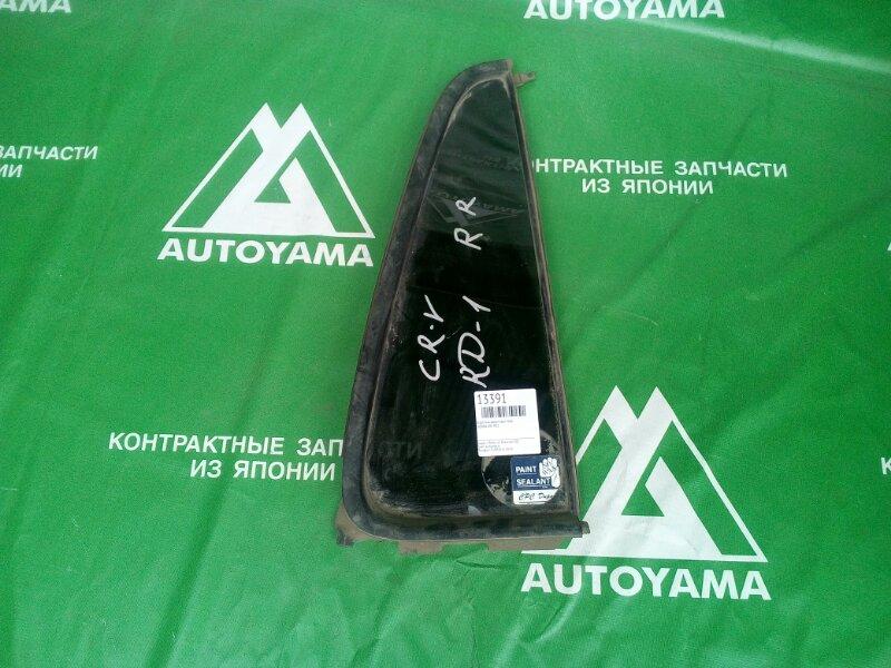 Форточка двери Honda Crv RD1 задняя правая (б/у)