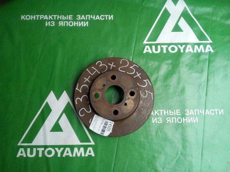 Тормозной диск Toyota Probox NCP51 1NZFE передний (б/у)