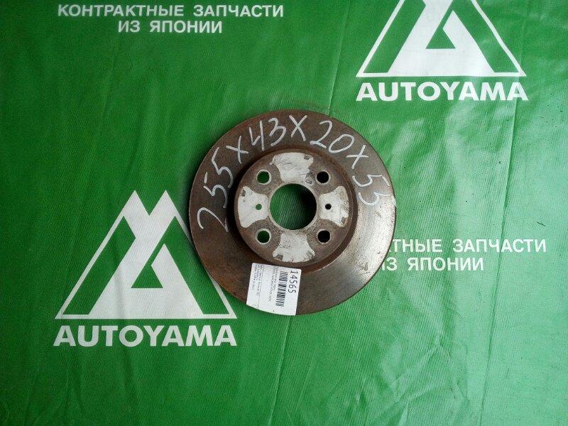 Тормозной диск Toyota Funcargo NCP20 1NZFE передний (б/у)