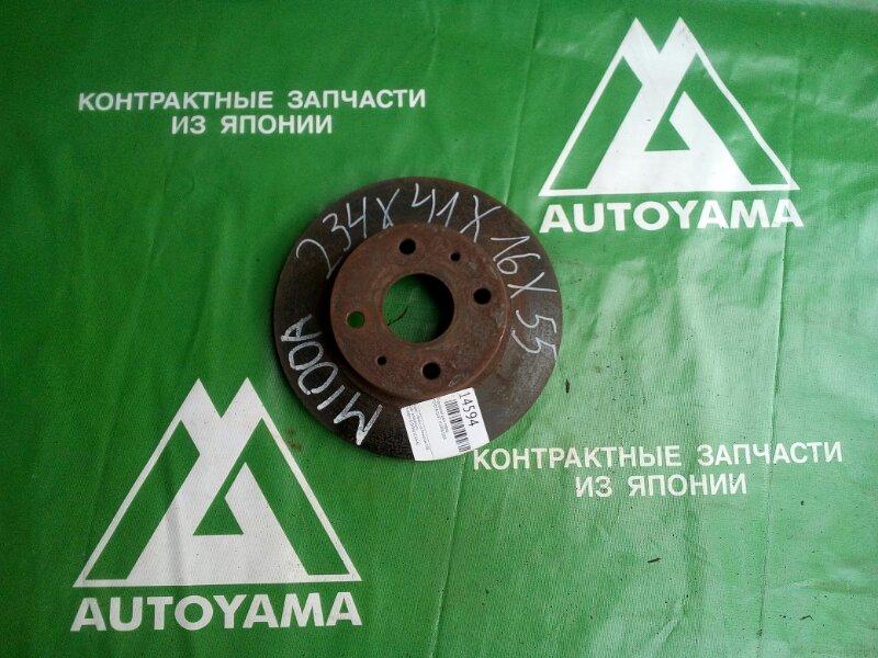 Тормозной диск Toyota Duet M100A EJDE передний (б/у)