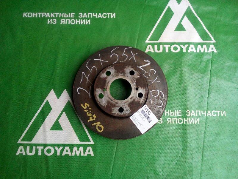 Тормозной диск Toyota Nadia SXN10 3SFSE передний (б/у)