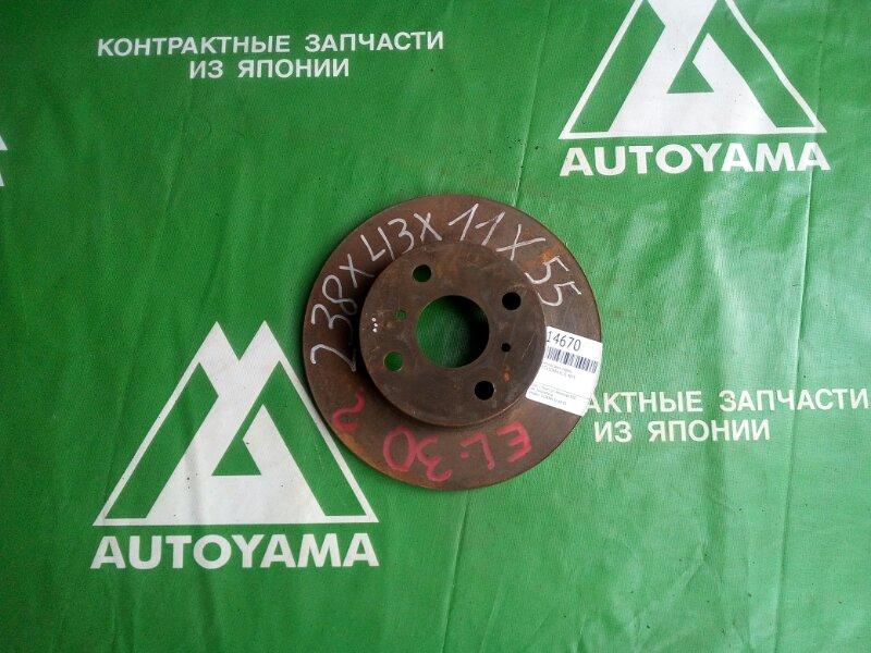 Тормозной диск Toyota Corsa EL51 4EFE передний (б/у)