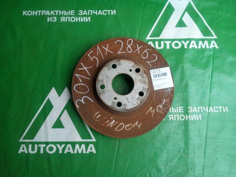 Тормозной диск Toyota Windom MCV30 1MZFE передний (б/у)