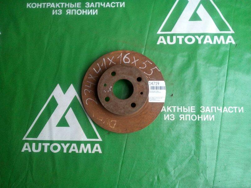 Тормозной диск Toyota Duet M101A K3VE передний (б/у)
