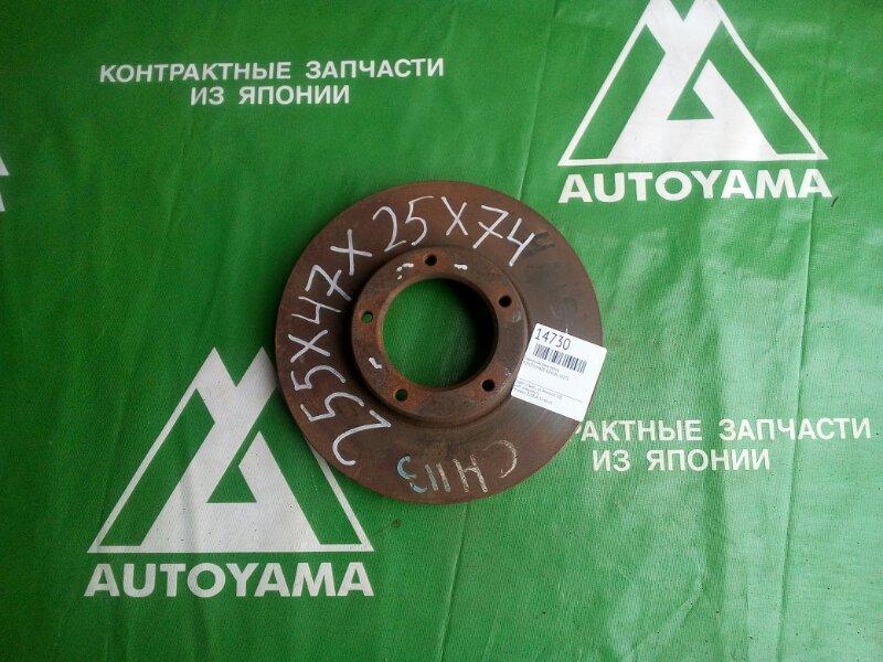 Тормозной диск Toyota Hiace KZH106 1KZTE передний (б/у)