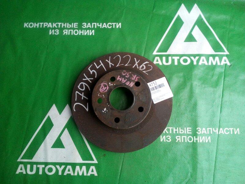Тормозной диск Toyota Noah SR50 3SFE передний (б/у)