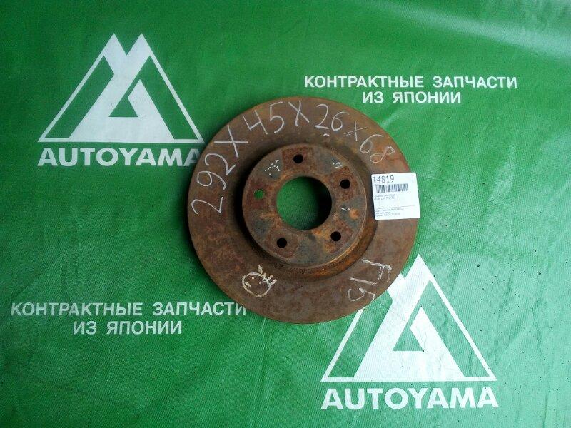 Тормозной диск Nissan Juke F15 HR15 передний (б/у)