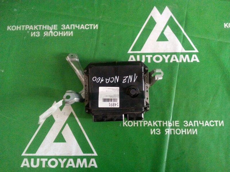 Блок управления двс Toyota Ractis NCP100 1NZFE (б/у)
