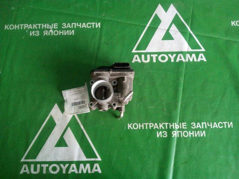 Дроссельная заслонка Toyota Ractis NCP100 1NZFE (б/у)