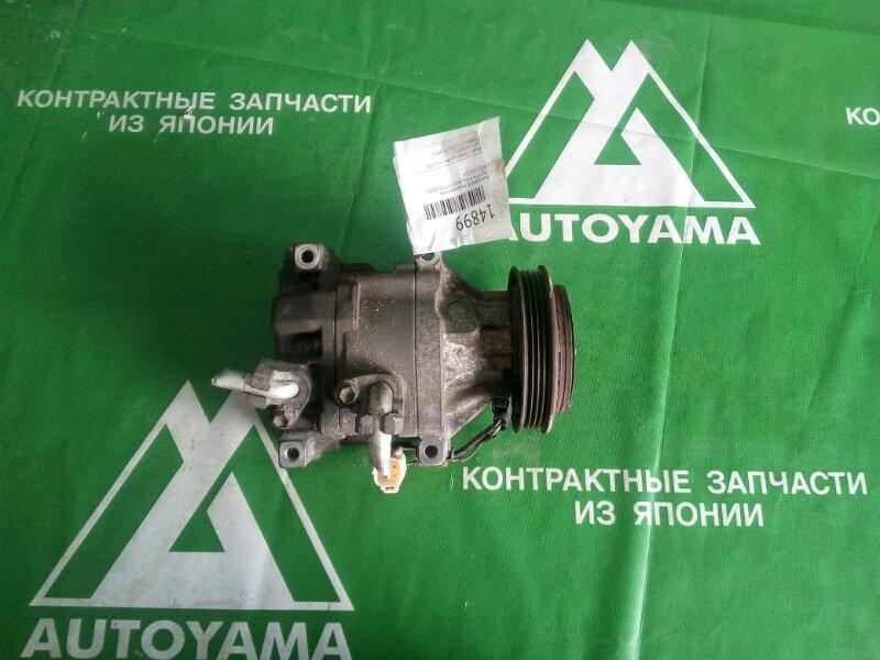 Компрессор кондиционера Toyota Funcargo NCP20 2NZFE (б/у)