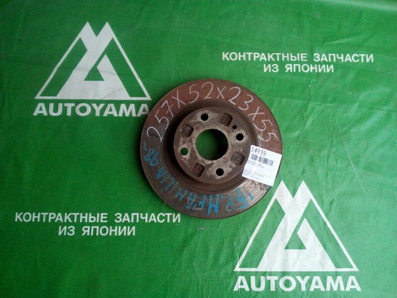 Тормозной диск Mazda Familia BJ5P FPDE передний (б/у)