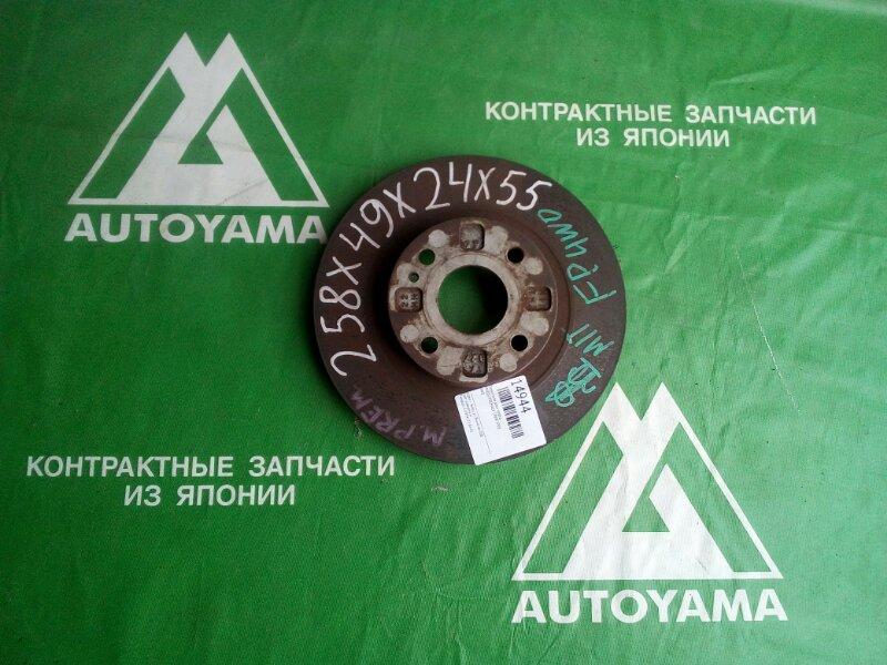 Тормозной диск Mazda Premacy CP8W FPDE передний (б/у)