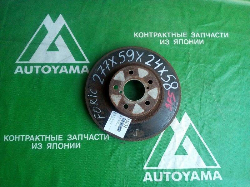Тормозной диск Subaru Forester SF5 EJ20 передний (б/у)