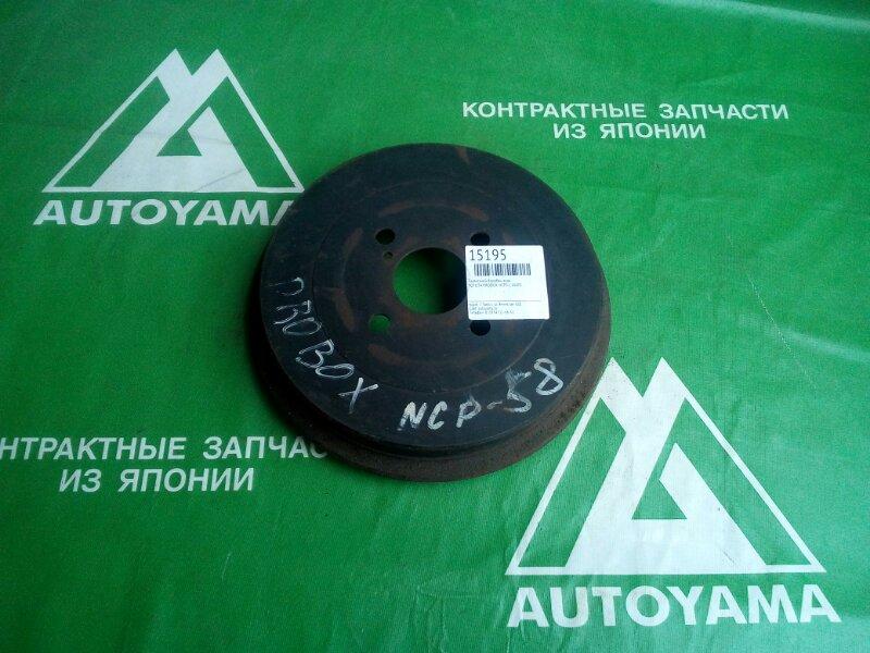 Тормозной барабан Toyota Probox NCP51 1NZFE задний (б/у)