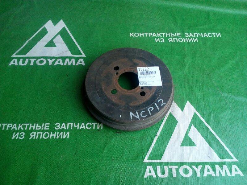 Тормозной барабан Toyota Funcargo NCP20 2NZFE задний (б/у)