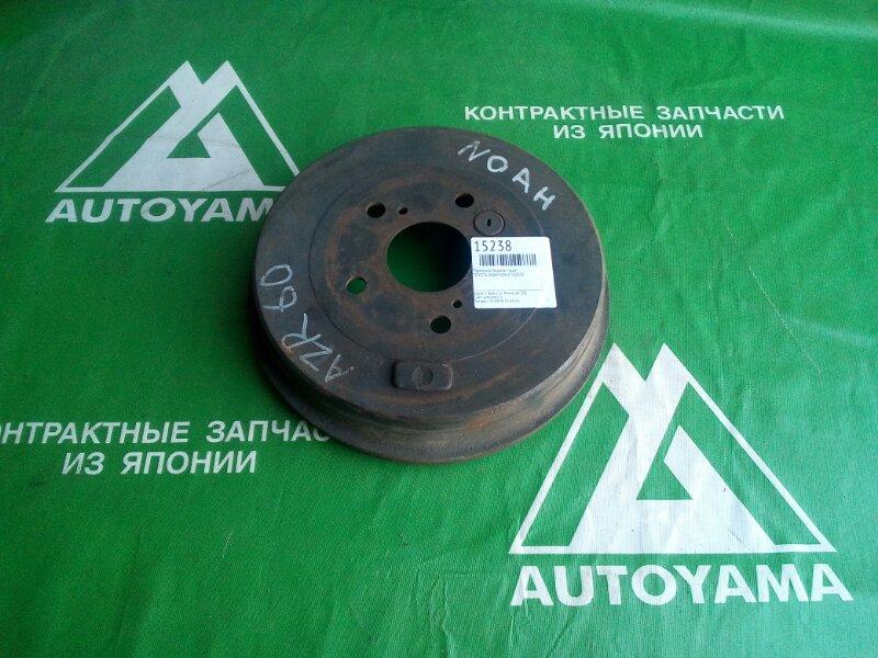 Тормозной барабан Toyota Noah AZR60 1AZFSE задний (б/у)