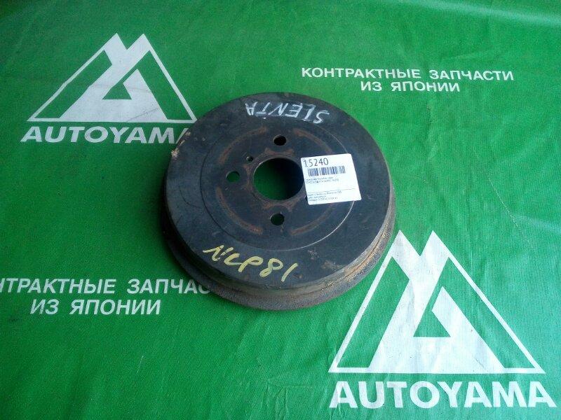 Тормозной барабан Toyota Sienta NCP81 1NZFE задний (б/у)