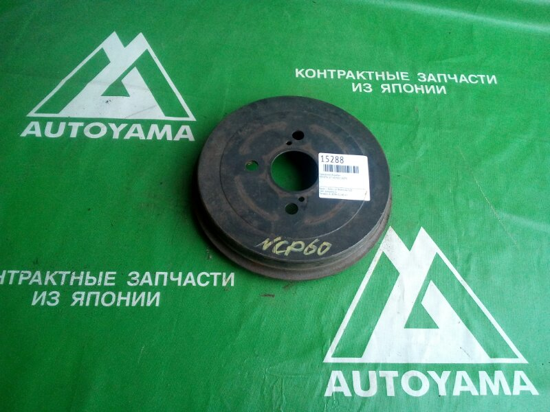 Тормозной барабан Toyota Ist NCP60 1NZFE задний (б/у)