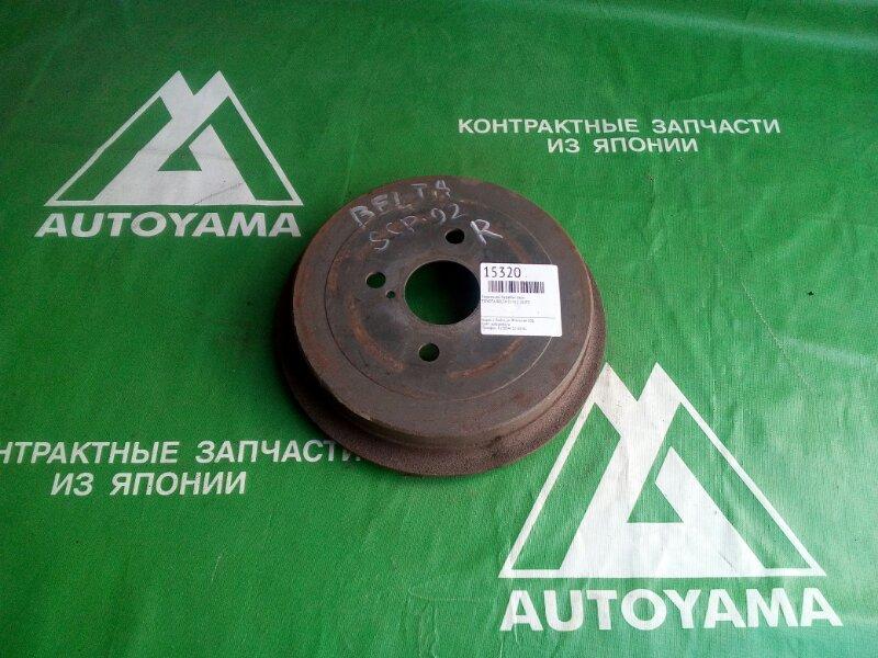 Тормозной барабан Toyota Belta SCP92 1SZFE задний (б/у)