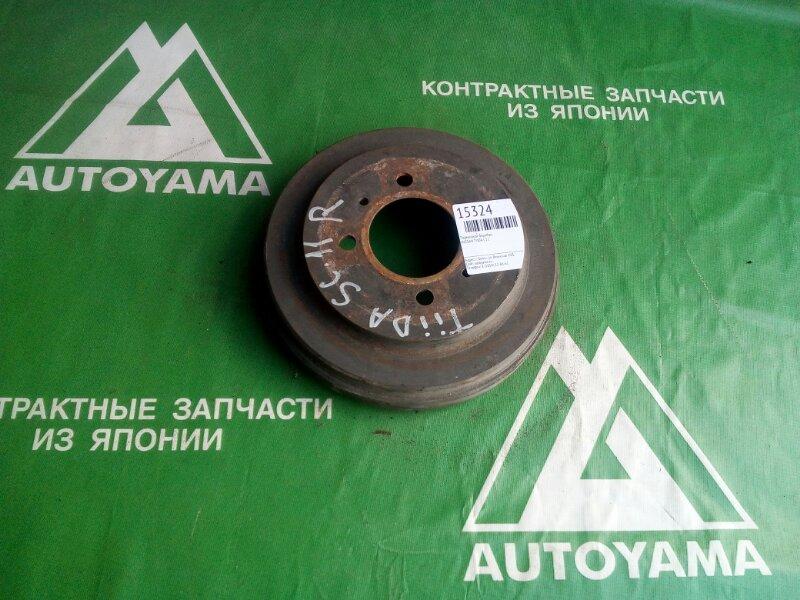 Тормозной барабан Nissan Tiida C11 HR15 задний (б/у)