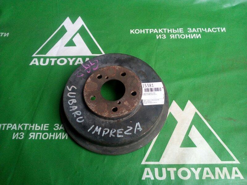 Тормозной барабан Subaru Impreza GG2 EJ15 задний (б/у)