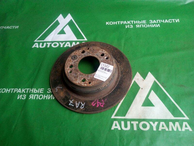 Тормозной диск Honda Odyssey RA7 F23A задний (б/у)