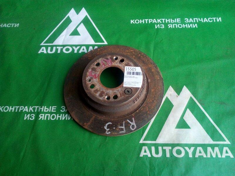 Тормозной диск Honda Stepwgn RF3 K20A задний (б/у)