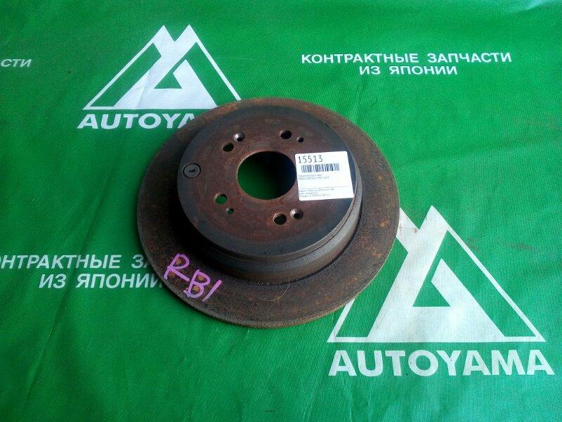 Тормозной диск Honda Odyssey RB1 K24A задний (б/у)