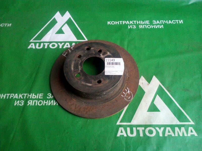 Тормозной диск Nissan Juke F15 HR15 задний (б/у)