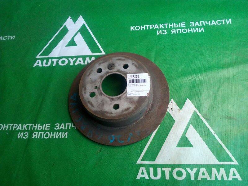 Тормозной диск Toyota Camry Gracia SXV20 5SFE задний (б/у)