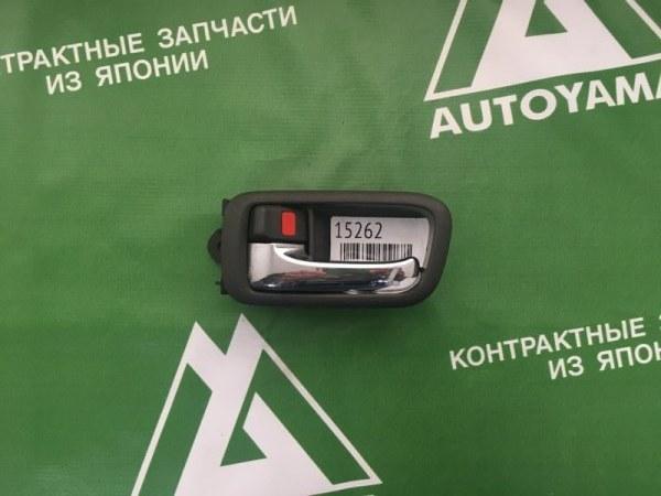 Ручка двери внутренняя Toyota Mark Ii GX100 1GFE передняя левая (б/у)