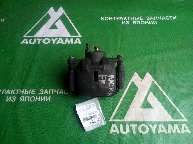 Суппорт Toyota Ist NCP60 1NZFE передний правый (б/у)