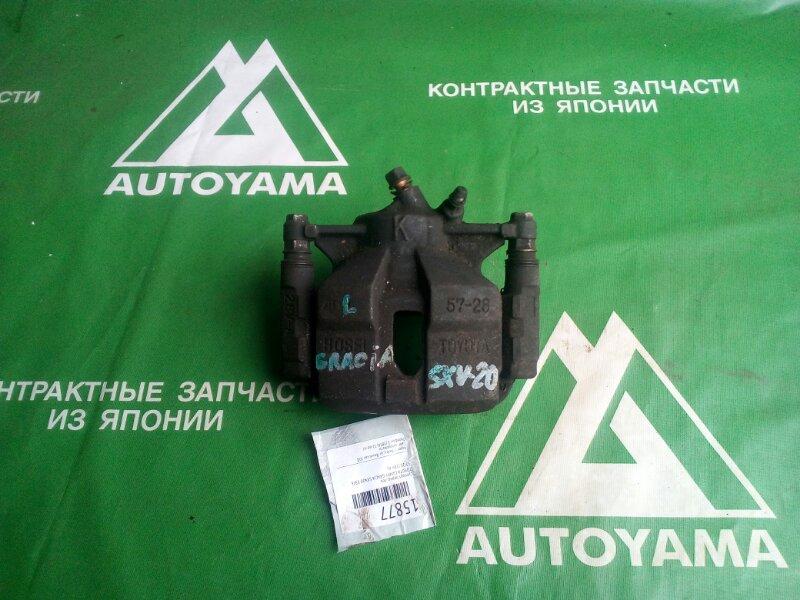 Суппорт Toyota Camry Gracia SXV20 5SFE передний левый (б/у)
