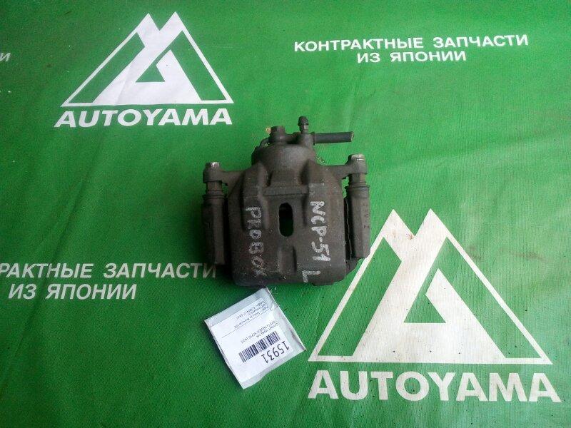Суппорт Toyota Probox NCP50 1NZFE передний левый (б/у)
