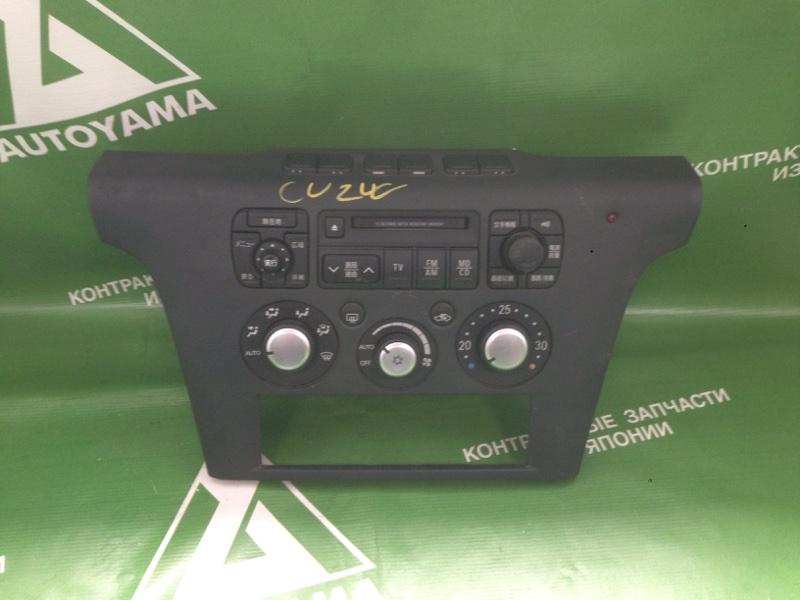 Блок управления климат-контролем Mitsubishi Airtrek CU2W 4G63 2004 (б/у)