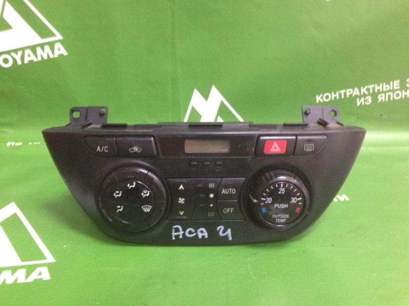 Блок управления климат-контролем Toyota Rav4 ACA21 1AZFE (б/у)