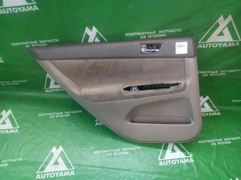 Обшивка двери Toyota Camry ACV30 1AZFE задняя левая (б/у)