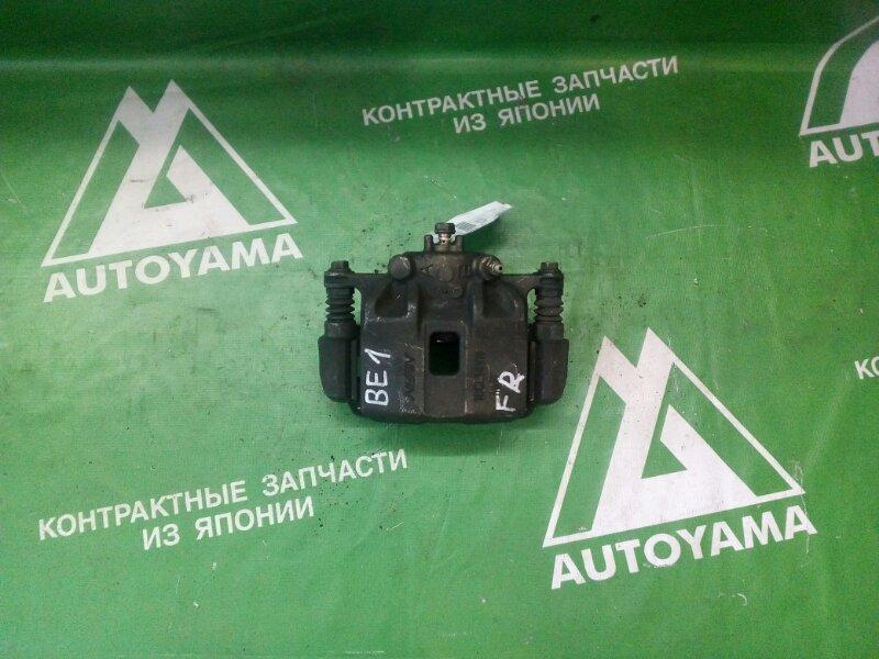 Суппорт Honda Edix BE1 D17A передний правый (б/у)
