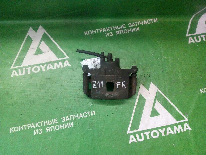 Суппорт Nissan Cube Z11 CR12 передний правый (б/у)
