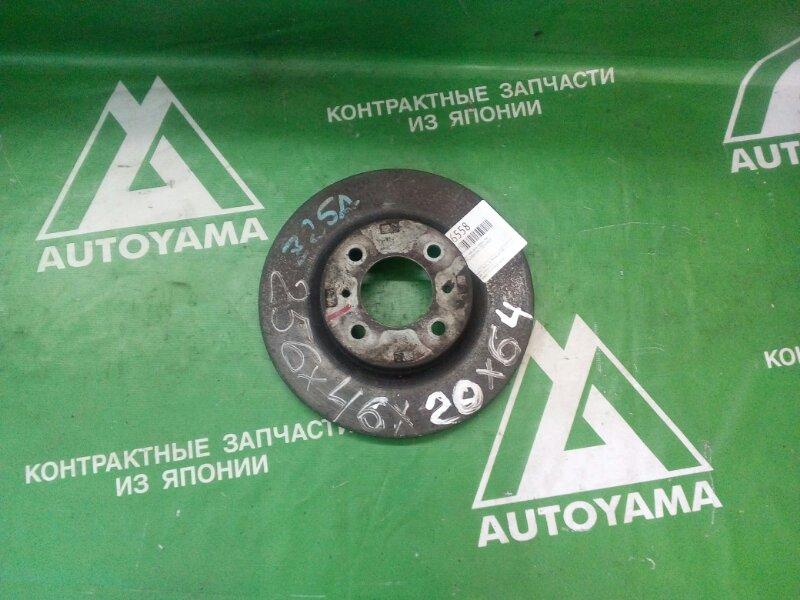Тормозной диск Mitsubishi Colt Z25A 4G15 передний (б/у)