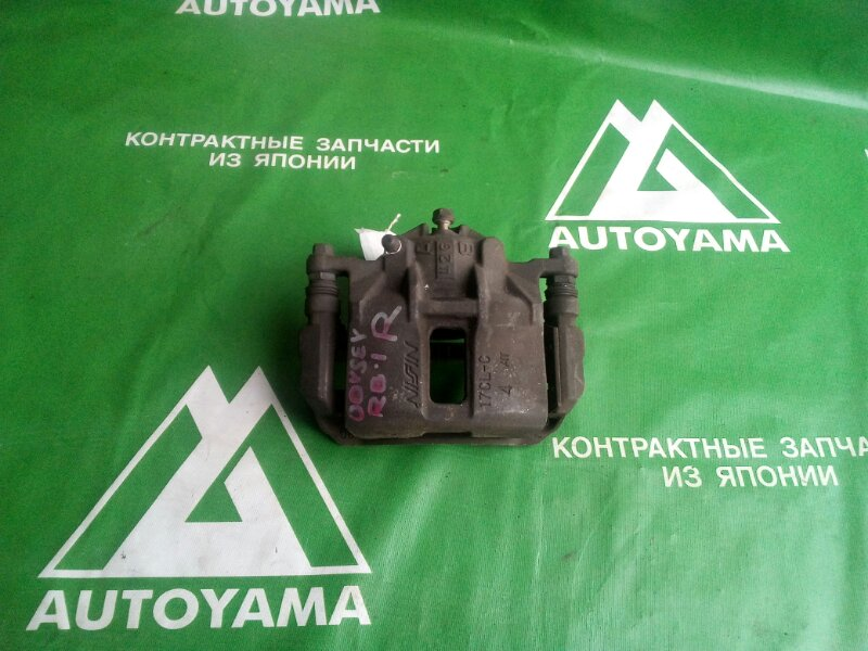 Суппорт Honda Odyssey RB1 K20A передний правый (б/у)