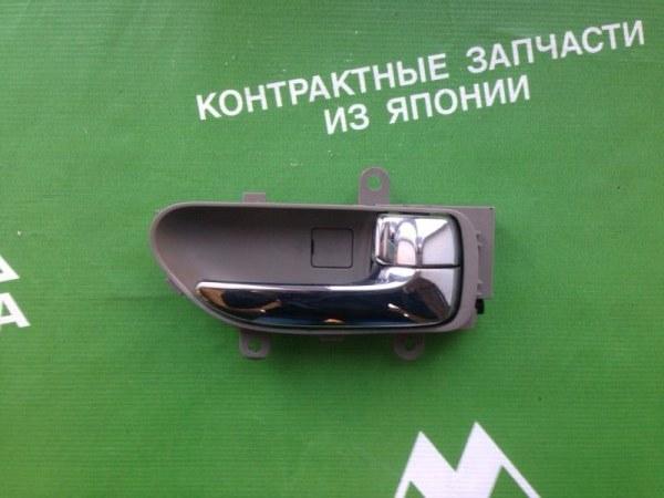 Ручка двери внутренняя Nissan Teana J31 VQ23 задняя правая (б/у)