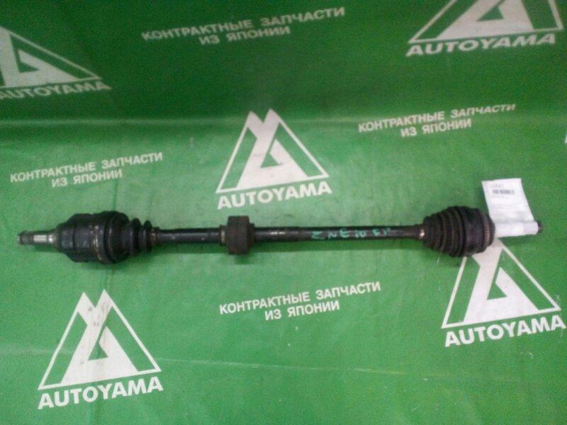 Привод Toyota Wish ZNE10 1ZZFE передний правый (б/у)