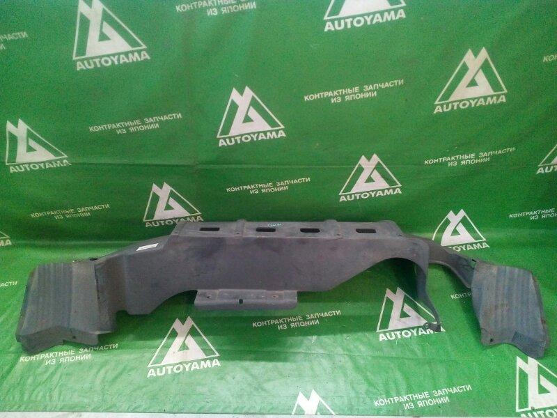 Защита бампера Honda Hr-V GH3 D16A 2000 задняя (б/у)